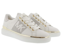 Max Lace Up Optic/Pale Gold Sneakers