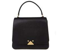 Tasche - Shoulder Bag Saffiano Leather Black