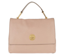 Liya Handle Bag 2 Pivoine/Taupe Satchel