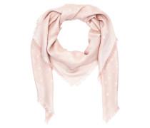 Monogram New Lurex Scarf Pink Schal