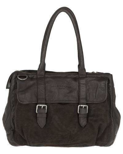 Pearl Tote Bag Suede Choco