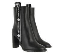 Boots Logo Band Ankle Black