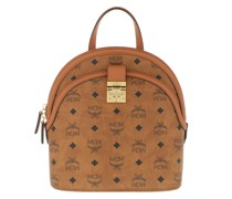 Rucksack Anna Visetos Backpack Small Cognac
