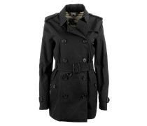 Mäntel - London Kensington Short Trench Coat Black