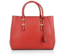 Guess Tasche - Sissi Satchel Bag Red - in rot - Henkeltasche für Damen