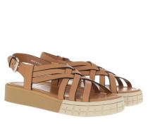 Sandalen Sandals Calf Leather Naturale