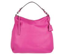 Tasche - Adria Calf Leather Hobo Bag Pink