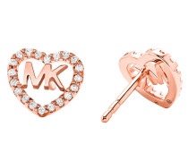 Ohrringe MKC1243AN791 Hearts Earrings Roségold