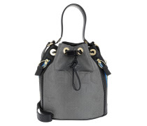 Icon Kombo Bucket Bag Silver Beuteltasche gold