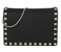 Rockstud Chain Crossbody Bag Nero Tasche