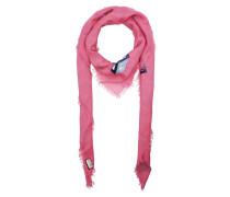 GG Wallpaper Print Scarf Pink Schal
