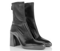 Boots & Booties - Calzature Donna Nappa Stretch Nero + Grigio