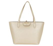 Reversible Shopping Bag New Gold/Silver Umhängetasche gold