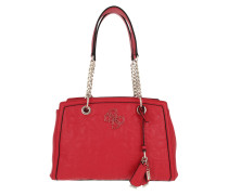 Tote New Wave Luxury Satchel Bag Red
