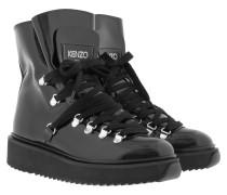 Boots & Booties - Alaska Fur-Lined Boots Black