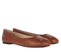 Ballerinas Jamie Casual Flats Deep Saddle Tan