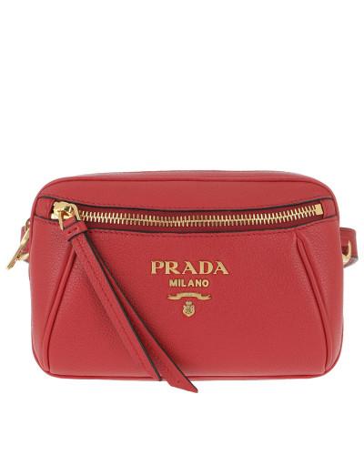 Gürteltasche Belt Bag In Pelle Di Vitello Rosso rot