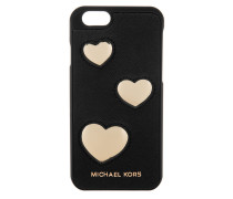 Electronic IPhone 6 Cover Hearts Saffiano Black Giftbox Handy Hülle