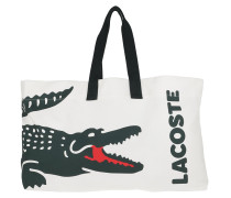 Shopper Large Beach Tote Bag White