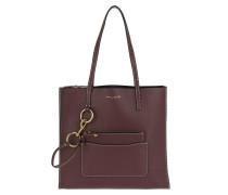 The Bold Grind Shopper Tote Bag Blackberry