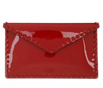 Clutch Large Flat Pouch Red