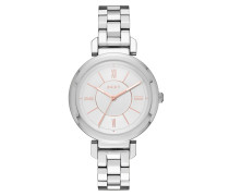 Ladies Ellington Watch Silver Armbanduhr