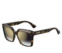 Sonnenbrille MOS035/S Dark Havana