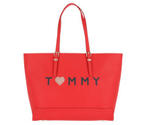Honey EW Tote Love Tommy Fiery Red Umhängetasche
