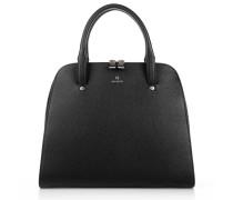 Tasche - Leather Handbag Black