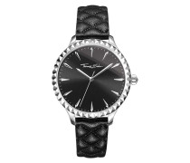 Uhr Watch Rebel At Heart Black/Silver
