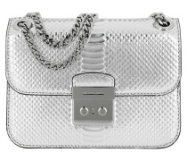 Sloan Editor MD Chain Shoulder Bag Silver