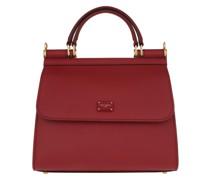 Satchel Bag Sicily Small Rosso