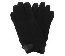 Handschuhe Men Sheepskin Side Tab Gloves Black