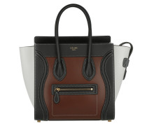 Luggage Tote Multicolor Micro Chestnut braun