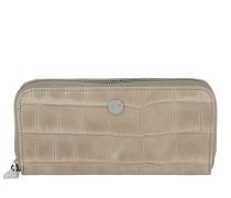 Melete Wallet Croco Soft Nature Portemonnaie