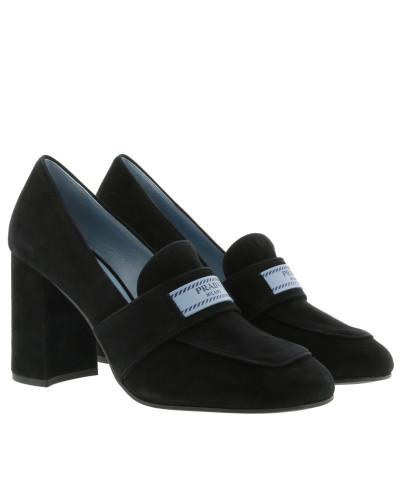 Prada Shoes 1D087L 008 Black Pumps