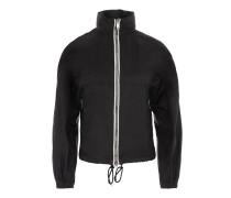 K-Way Nylon Piuma Jacket Nero + Bianco + Nero