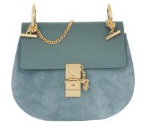 Drew Umhängetasche Bag Suede Cloudy Blue