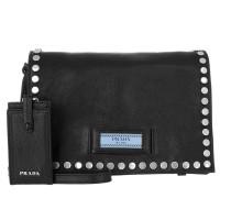 Etiquette Shoulder Bag Nero/Astrale Umhängetasche