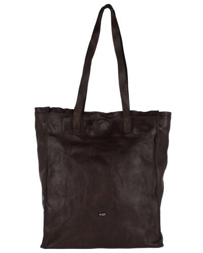 Campomaggi Damen Shoping Bag Cow Leather P/D Moro Henkeltasche