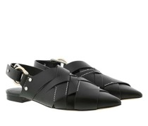 Loafers & Ballerinas Deanna Woven Pointy Flat