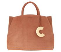 Tote Concrete Suede Bag Tan