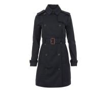 Trench Coat New Navy Mantel blau