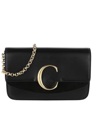 Umhängetasche C Clutch With Chain Black