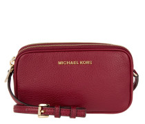 Tasche - Bedford MD Double Zip XBody Leather Cherry - in rot