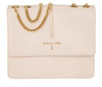 Tasche - Crossbody Bag Leather Rose Animalier