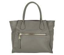 Tasche - Adria Cow Leather Tote Zinc