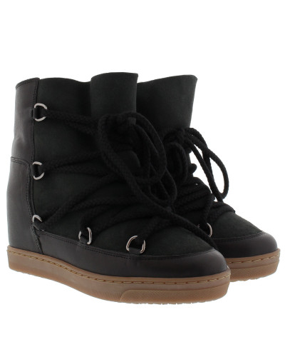 Boots Nowles Snow Ankle Boots Black schwarz