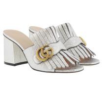 Galassia Metallic Sandal Argento Sandalen