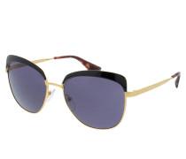 PR 0PR 51TS 56 LAX6O2 Sonnenbrille gold